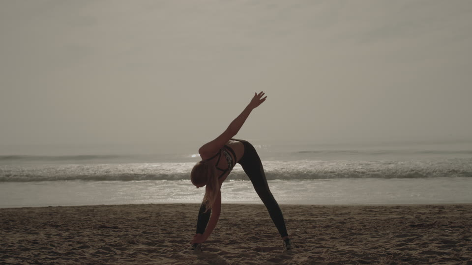 Get 5K premium stock footage video clip - Yoga On The Beach - shot on RED Camera. Available immediately in RED R3D format. Choose from a wide range of footage collections with clips that belong together. One simple license for any use. New collections added weekly. ID 1701. Download footage now!