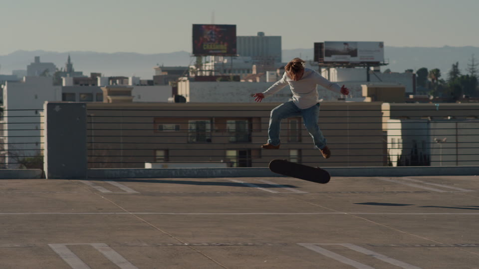 Get 5K premium stock footage video clip - Skater in Los Angeles - shot on RED Camera. Available immediately in RED R3D format. Choose from a wide range of footage collections with clips that belong together. One simple license for any use. New collections added weekly. ID 1911. Download footage now!