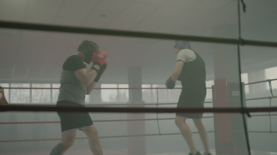 RawFilm | Boxing Sparring | Shot on RED in 8K