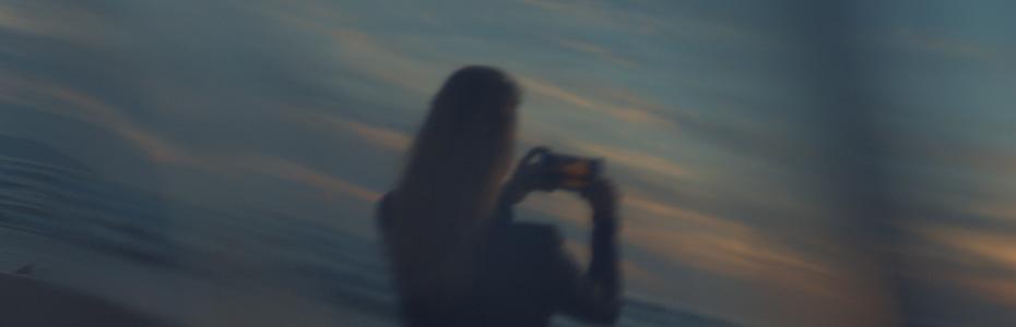 A Calm Moment on the Beach