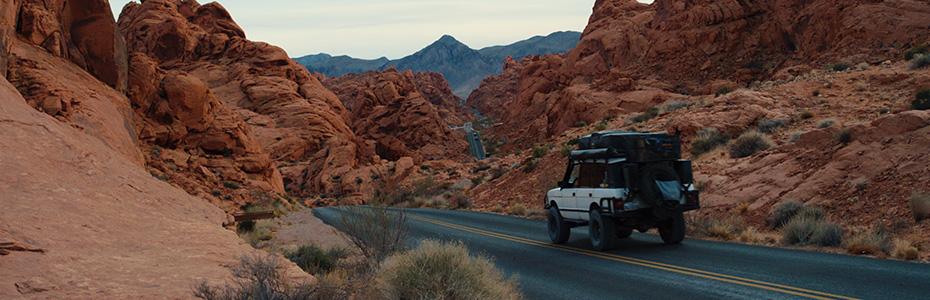 The Solitary Desert Scenery