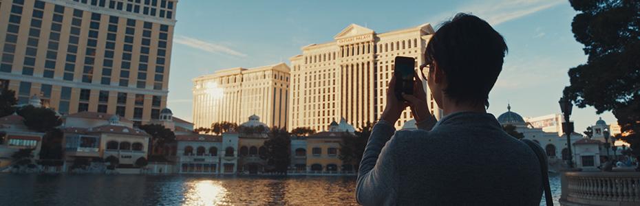 Mesmerizing Sight of Vegas Fountains