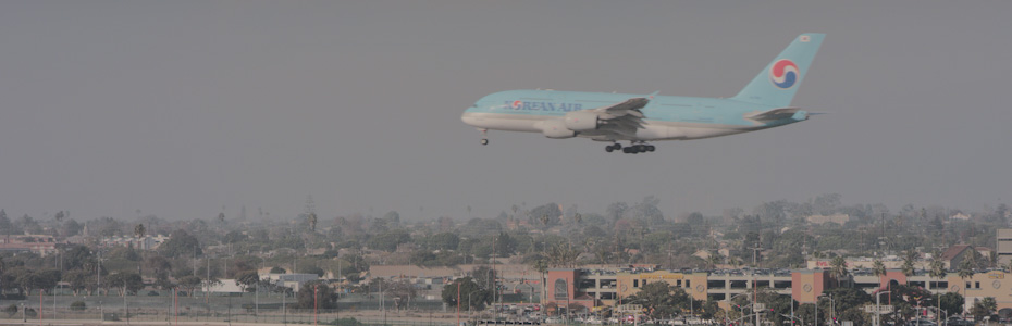 Plane-watching Experience in LA
