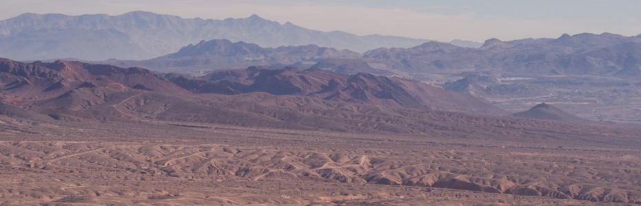 The Empty Desert at Daytime