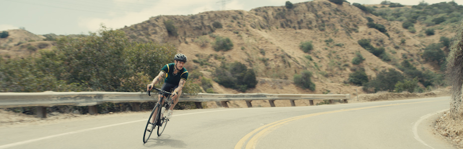 Biking on a Winding Road