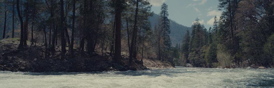 Fast flowing Creek in Yosemite