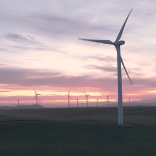 8K premium royalty-free stock footage shot on RED Camera, instantly available in RED R3D format. License this collection of Windfarm Aerials now!