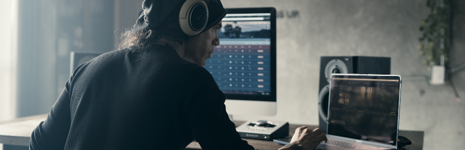 Freelancer In The Studio