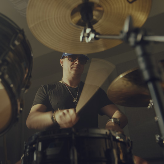 8K premium royalty-free stock footage shot on RED Camera, instantly available in RED R3D format. License this collection of Playing Drums now!