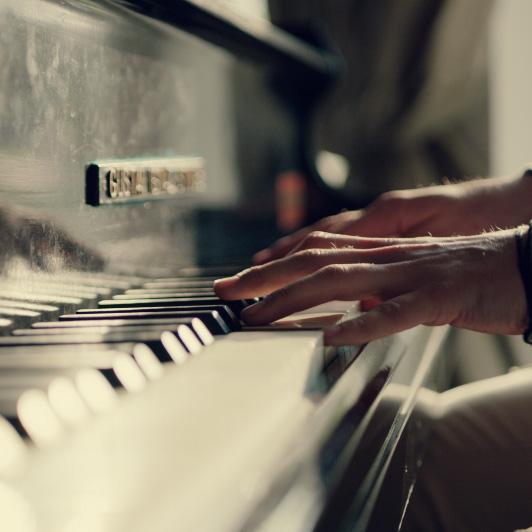 8K premium royalty-free stock footage shot on RED Camera, instantly available in RED R3D format. License this collection of Pianist now!