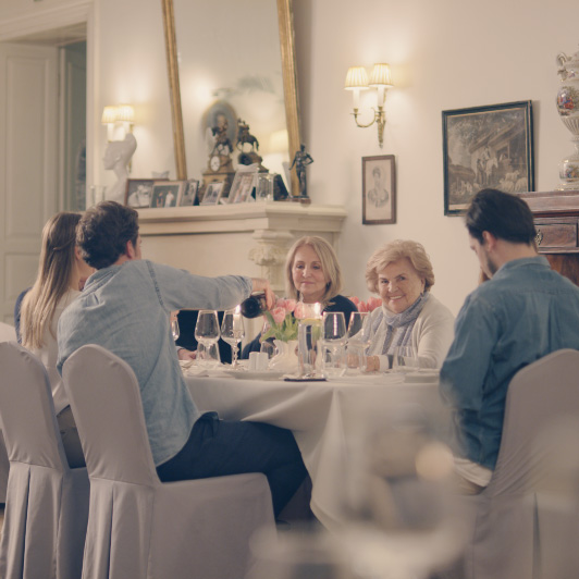 8K premium royalty-free stock footage shot on RED Camera, instantly available in RED R3D format. License this collection of Family Dinner now!