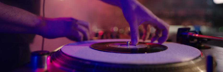 DJ At The Club