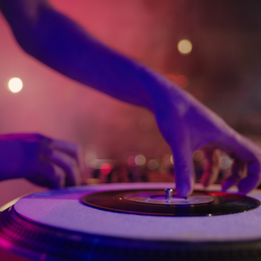 8K premium royalty-free stock footage shot on RED Camera, instantly available in RED R3D format. License this collection of DJ At The Club now!