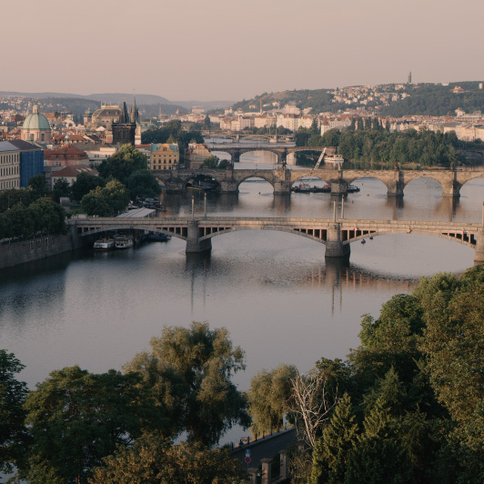 8K premium royalty-free stock footage shot on RED Camera, instantly available in RED R3D format. License this collection of Prague now!