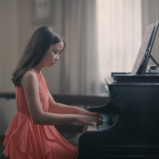 8K premium royalty-free stock footage shot on RED Camera, instantly available in RED R3D format. License this collection of Piano Lesson now!