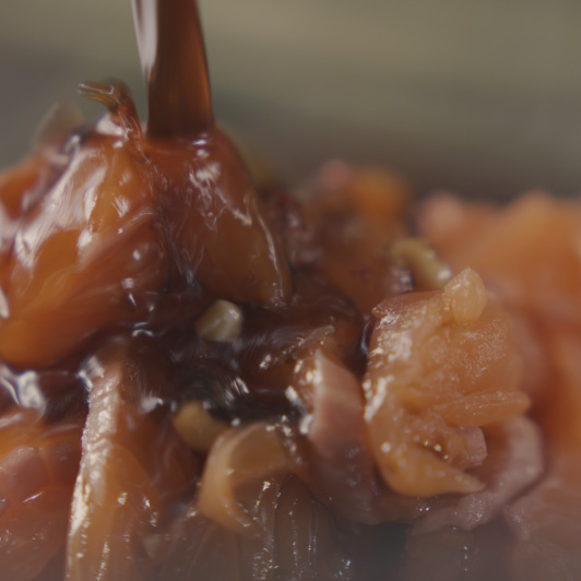 8K premium royalty-free stock footage shot on RED Camera, instantly available in RED R3D format. License this collection of Salmon Ceviche now!