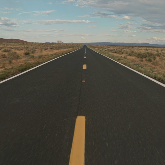 8K premium royalty-free stock footage shot on RED Camera, instantly available in RED R3D format. License this collection of Empty Roads now!