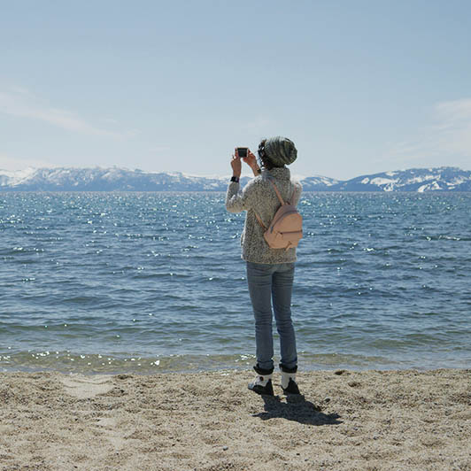 8K premium royalty-free stock footage shot on RED Camera, instantly available in RED R3D format. License this collection of Woman Exploring Mountain Lake now!