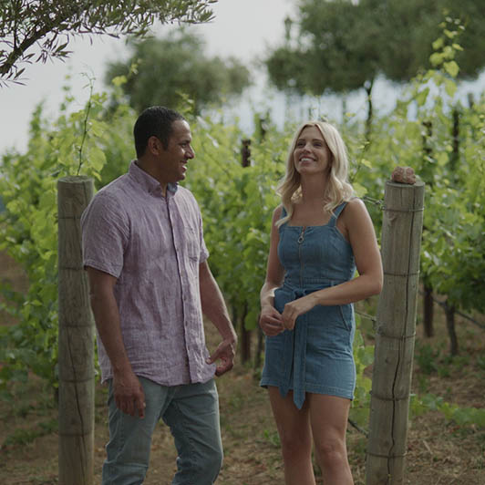 8K premium royalty-free stock footage shot on RED Camera, instantly available in RED R3D format. License this collection of Couple In The Winery now!