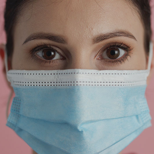 8K premium royalty-free stock footage shot on RED Camera, instantly available in RED R3D format. License this collection of Portrait Of A Woman With The Face Mask now!