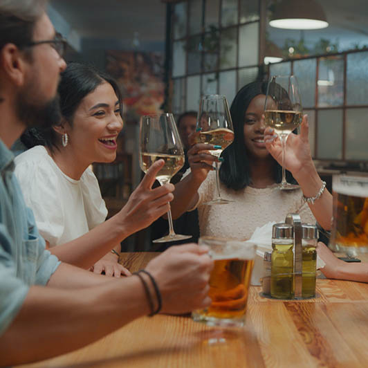 8K premium royalty-free stock footage shot on RED Camera, instantly available in RED R3D format. License this collection of Friends In The Restaurant now!