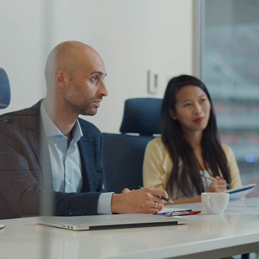 8K premium royalty-free stock footage shot on RED Camera, instantly available in RED R3D format. License this collection of Job Recruitment Meeting now!