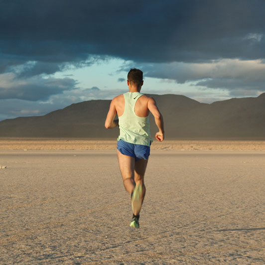8K premium royalty-free stock footage shot on RED Camera, instantly available in RED R3D format. License this collection of Runner On The Desert now!