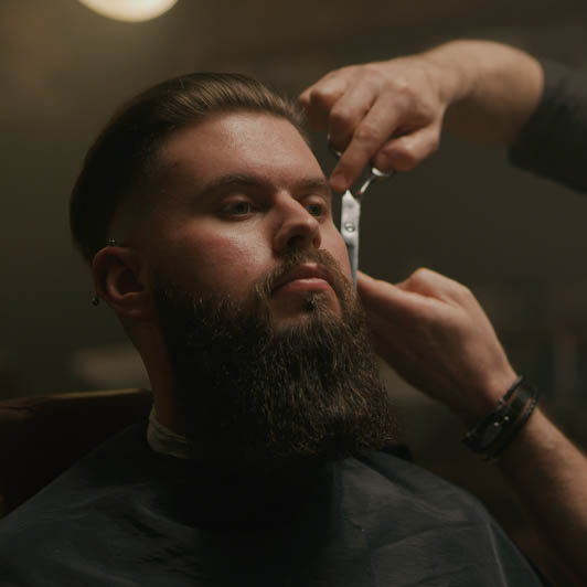 8K premium royalty-free stock footage shot on RED Camera, instantly available in RED R3D format. License this collection of Barber Shop now!