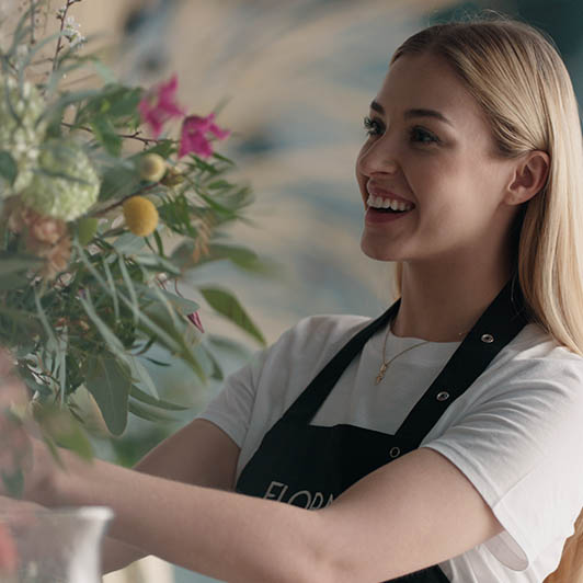 8K premium royalty-free stock footage shot on RED Camera, instantly available in RED R3D format. License this collection of Florist Workshop now!